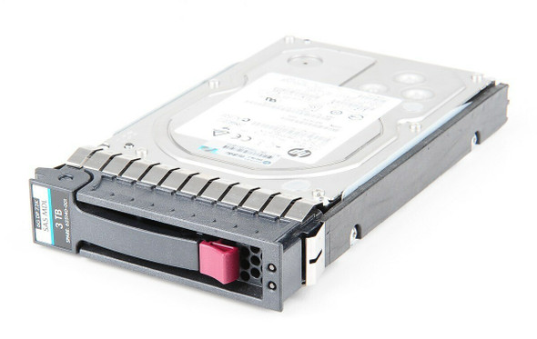 HPE MB3000FBUCN 3TB 7200RPM 3.5inch LFF Dual Port SAS-6Gbps Midline Hard Drive for ProLiant Generation2 to Generation7 Servers (Grade A - Clean with Lifetime Warranty)