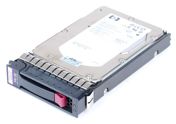 HPE 431944-B21 300GB 10000 RPM 3.5inch Large Form Factor SAS-3Gbps Enterprise Hard Drive for ProLiant Gen2 to Gen7 Servers (New Bulk Pack with 1 Year Warranty)