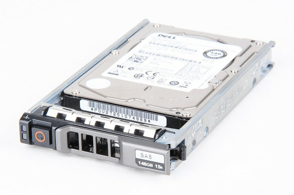 Dell 0C453H 450GB 15000RPM 3.5inch LFF Hot-Swap Low Profile SAS-6Gbps Hard Drive for PowerEdge and PowerVault Servers (New Bulk Pack with 1 Year Warranty)