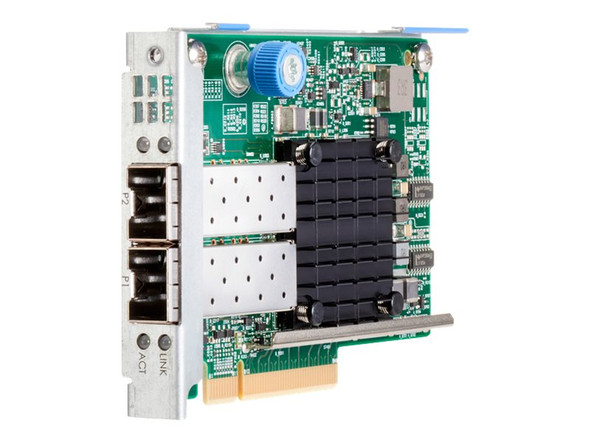 HPE 840133-001 Ethernet 10/25Gbps Dual Port SFP28 631FLR Network Adapter for ProLiant Gen8 Gen9 Ge10 Servers (Brand New with 3 Years Warranty)