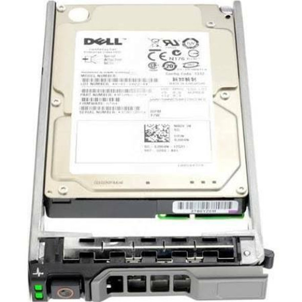 Dell T6TWN 1.2TB 10000RPM 2.5inch SFF 64 MB Buffer SAS-6Gbps Hot-Swap Internal Hard Drive for PowerEdge and PowerVault Servers (Brand New with 3 Years Warranty)