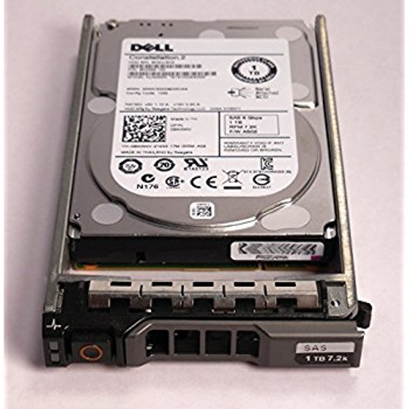 Dell WDC07 2TB 7200RPM 3.5inch Large Form Factor(LFF) SAS-6Gbps Hot Swap Internal Hard Drive for Poweredge and Powervault Servers