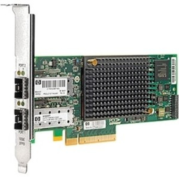 HPE LPE12002-HPE 8GB Dual Port PCI Express 2.0 PCI Express x8 Fibre Channel Host Bus Adapter for ProLiant Server