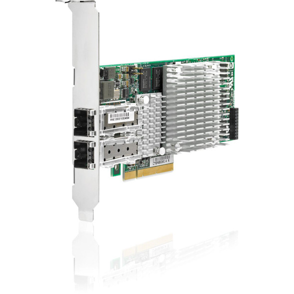 HPE 468332-B21 10Gbps Dual Port PCI Express - 2.0 x8 Gigabit Ethernet Wired Network Adapter for ProLaint Generation5 Generation6 and Generation7 Servers
