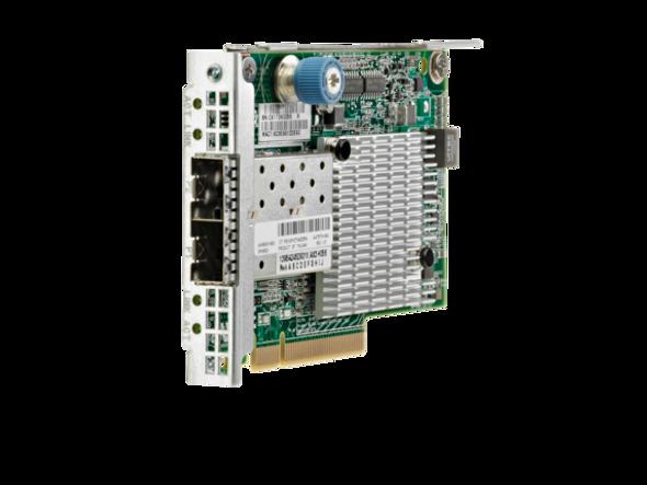 HPE Flexfabric 700751-B21 Dual Port 10Gbps Ethernet PCI Express 2.0 x8 534FLR-SFP+ Network Adapter for ProLiant Gen9 Gen10 and Apollo Gen9 Gen10 Servers (3 YR)