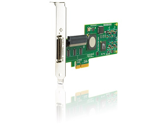 HPE SC11Xe 412911-B21 Single Channel PCI Express x4 Ultra320 SCSI Host Bus Adapter for ProLiant Gen3 to Gen7 Servers (Grade A - Clean with 90 Days Warranty)