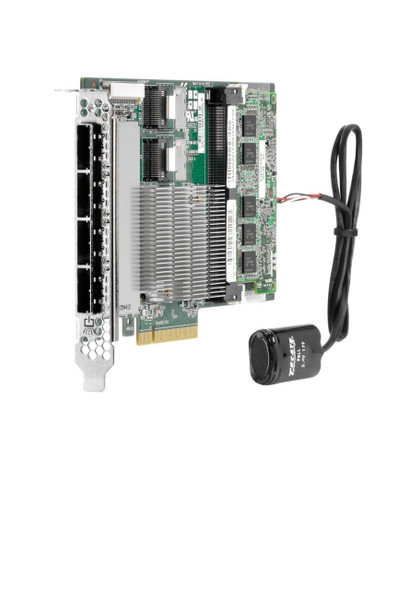 HPE 615418-B21 Smart Array P822/2GB FBWC (Flash Backed Write Cache) 6Gbps 2-Ports-Int/4-Ports Ext SAS/SATA Storage (RAID) Controller for ProLiant Gen8 Servers (Clean/Grade A with 90 Days Warranty)