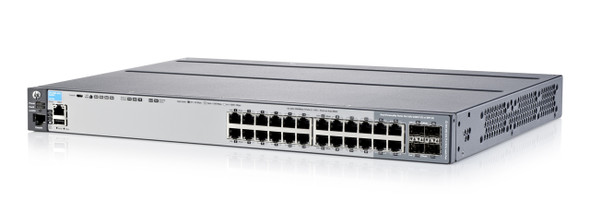 HPE Aruba J9726A 2920-24G-PoE+ 24Port 10GBASE-T 20 x 10/100/1000 + 4 x combo Gigabit SFP Gigabit Ethernet Managed Switch (Grade A with 90 Days Warranty)