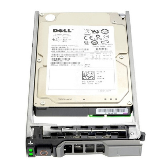 Dell H8DVC 300GB 15000RPM 2.5inch Small Form Factor(SFF) SAS-6Gbps 64 MB Buffer Hot-Swap Hard Drive for PowerEdge and PowerVault Servers (New Bulk Pack with 1 Year Warranty)
