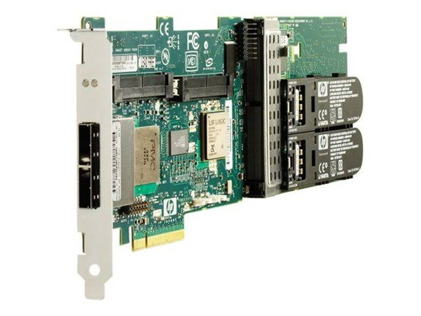 HPE P800 381513-B21 512MB Cache 16 Port PCI Express x8 SAS/SATA Battery Backed Write Cache Smart Array RAID Controller for Generation1 to Generation7 ProLiant Server