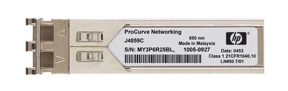 HPE ProCurve J4859C X121 1Gbps SFP LC- 1000Base-LX Full Duplex Mini-GBIC Plug-in module Gigabit Ethernet Wired Transceiver Module