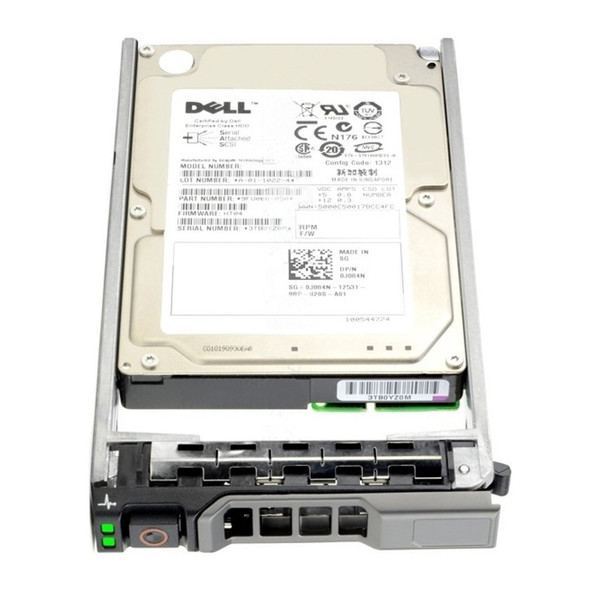 Dell 0R72NV 600GB 10000RPM 2.5inch SFF 32 MB Buffer SAS-6Gbps Hot-Swap Internal Hard Drive for PowerEdge and PowerVault Servers (New Bulk Pack with 1 Year Warranty)