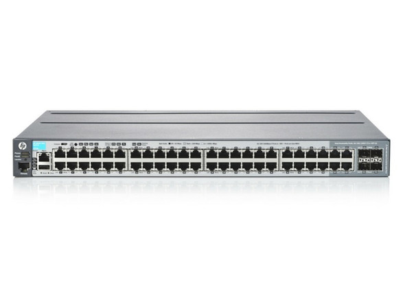 HPE Aruba J9728A 2920 48Ports 2920-48G Managed L3 44 x 10/100/1000 + 4 x combo SFP Gigabit Ethernet Managed Stackable Switch (Brand New with 3 Years Warranty)