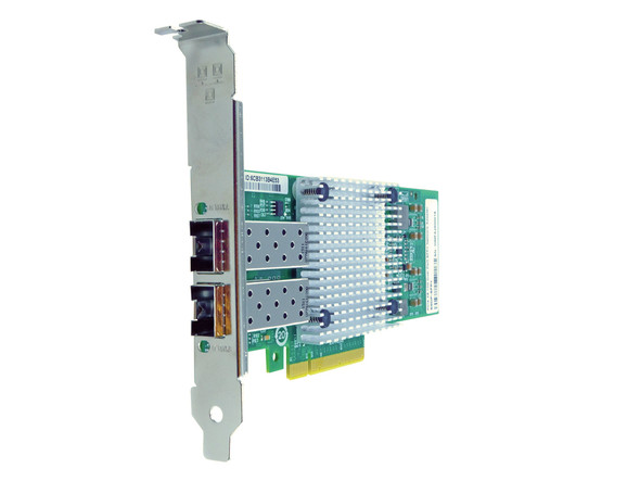 HPE NC523SFP 10Gb Dual Port PCI Express-2.0 256 MB Ram Wired Ethernet Server Network Adapter for ProLiant Servers (New Bulk Pack with 1 Year warranty)