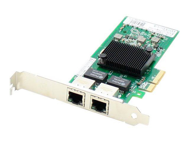 HPE 458491-001 1Gbps PCI Express 10/100/1000Base-T Dual Port Multifunction Gigabit Network Adapter for ProLiant Server