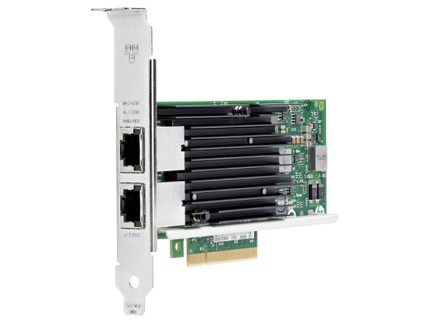 HPE 716591-B21 Ethernet 10Gbps Dual Port PCI Express 2.1 x8 561T Network Adapter for ProLiant Servers (Brand New with 3 Years Warranty)