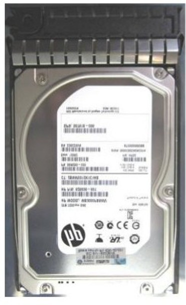 HPE 625030-001 3TB 7200RPM 3.5inch LFF Dual Port SAS-6Gbps Midline Hard Drive for ProLiant Generation2 to Generation7 Servers (Grade A - Clean with Lifetime Warranty)