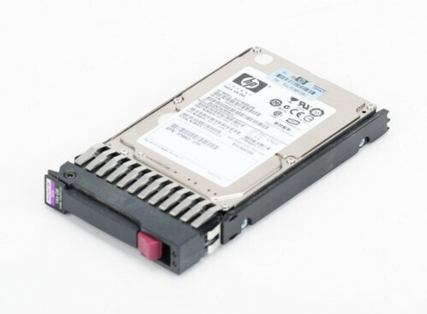 HPE 504015-003 300GB 10000 RPM 2.5 inch Small Form Factor SAS-3Gbps Dual Port Enterprise Hard Drive for ProLiant Gen2 to Gen7 Servers (New Bulk Pack with 1 Year Warranty)