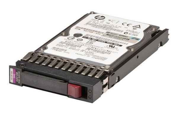 HPE 581286-B21 600GB 10000RPM 2.5inch Small Form Factor Dual Port SAS-6Gbps Hot-Swap Enterprise Hard Drive for ProLiant Generation1 to Generation7 Servers (90 Days Warranty)