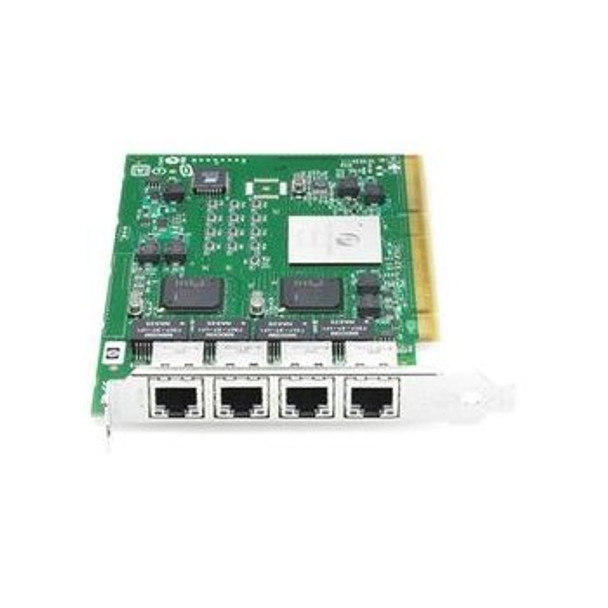 HPE NC340T 391661-B21 10Gbps Quad Port PCI -X Plug-in card Ethernet Network Adapter for ProLiant Servers (New Bulk Pack with 1 Year Warranty)