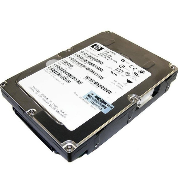 HPE 412751-016 300GB 15000RPM 3.5inch LFF Wide Ultra-320 SCSI 80-Pin Hard Drive for ProLiant Gen1 to Gen4 Servers (Refurbished with 90 Days Warranty)