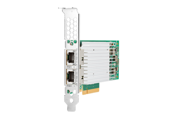 HPE 867707-B21 10Gbps Ethernet Dual Port 521T PCI Express Network Adapter for ProLiant Gen10 Servers (Brand New with 3 Years Warranty)
