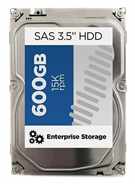 HPE 516830-B21 600 GB 15000 RPM 3.5 inch Large Form Factor SAS-6Gbps Dual Port Enterprise Hard Drive for Gen1 to Gen7 ProLiant Server (New Bulk with 1 Year Warranty)