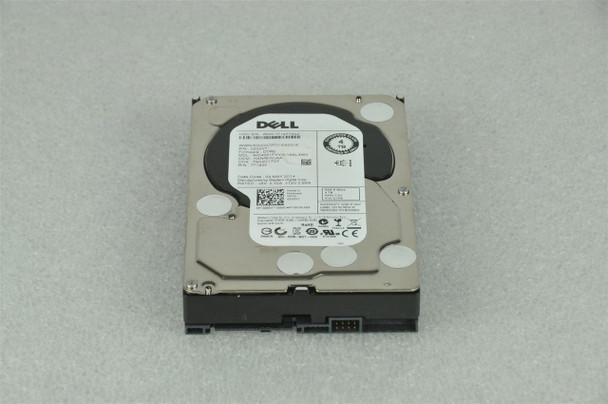 Dell 400-ADJW 4TB 7200RPM 3.5inch Large Form Factor 64 MB Buffer SAS-6Gbps Hot-Swap Internal Hard Drive for Poweredge and Powervault Server