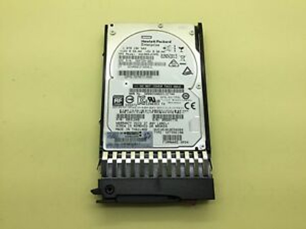 HPE EG001800JWFVC 1.8TB 10000RPM 2.5inch SFF 512e Dual Port SAS-12Gbps Enterprise Hard Drive for Modular Smart Array 1040/2040 SAN Storage (Brand New with 3 Years Warranty)
