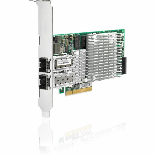 HPE 468349-001 10Gbps Dual Port PCI Express - 2.0 x8 Gigabit Ethernet Wired Network Adapter for ProLiant Generation5 Generation6 and Generation7 Servers