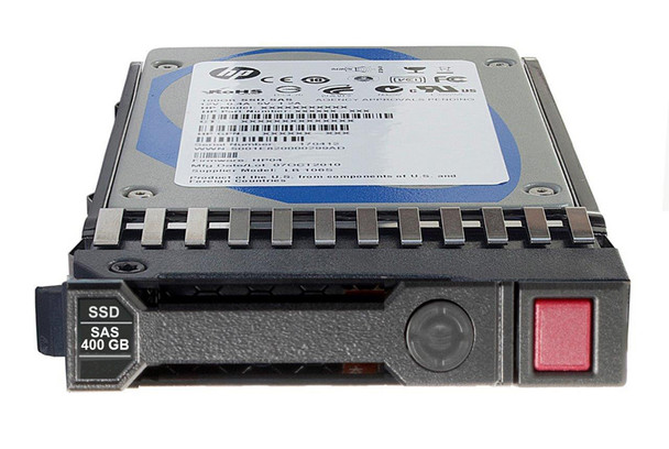 HPE P04525-B21 400GB 2.5inch SFF Digitally Signed Firmware MLC SAS-12Gbps SC Mixed Use Solid State Drive for ProLiant Gen9 Gen10 Servers (Brand New with 3 Years Warranty)