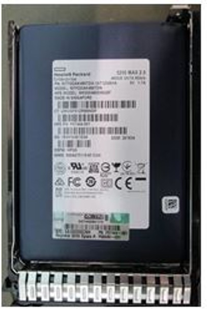 HPE P07922-B21 480GB 2.5inch Small Form Factor Digitally Signed Firmware SATA-6Gbps Smart Carrier Mixed Use Solid State Drive for ProLiant Gen9 Gen10 Server (Brand New with 3 Years Warranty)