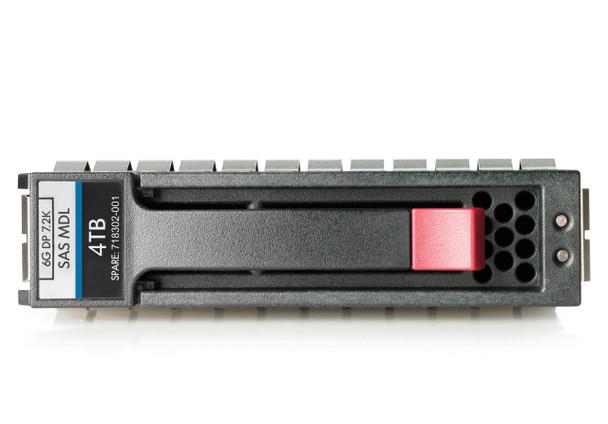 HPE C8R26A 4TB 7200RPM 3.5inch LFF Dual Port SAS-6Gbps Midline Hard Drive for Modular Storage Array (MSA) 1040/2040 SAN Storage (Brand New with 3 Years Warranty)