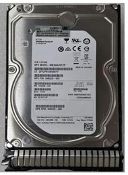 HPE 846523-003-SC 3TB 7200RPM 3.5inch LFF SAS-12Gbps Hot-Swap SmartDrive Carrier Midline Internal Hard Drive for ProLaint Gen8 Gen9 Servers (Brand New with 3 Years Warranty)