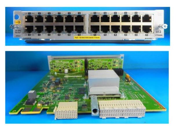 HPE Aruba J9986-61001 5400R Gigabit Ethernet 24-Port 1000Base-T PoE+ zl2 Expansion Module (Brand New with 3 Years Warranty)