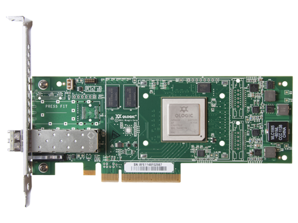 HPE StoreFabric SN1000Q QW971A 16Gbps Single Port Low Profile PCI Express 3.0 Fibre Channel Host Bus Adapter (Brand New with 3 Years Warranty)