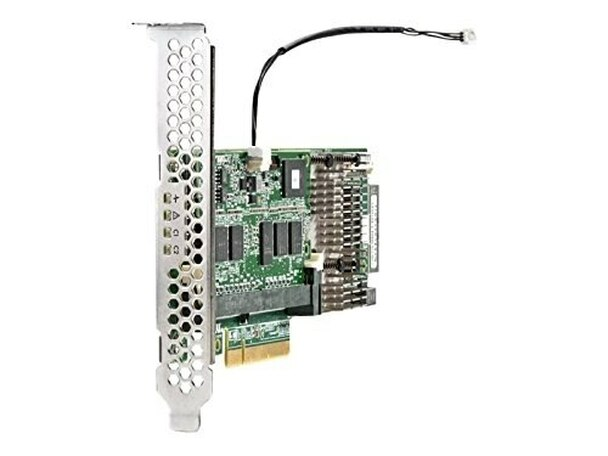 HPE 749797-001 Smart Array P440/4GB Flash Backed Write Cache (FBWC) 12Gb Single Port PCI Express 3.0 x8 Internal SAS (RAID) Storage Controller for ProLiant Gen9 Servers (1 Year Warranty)