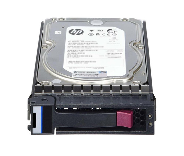 HPE 652755-007 4TB 7200RPM 3.5inch Large Form Factor Dual Port SAS-6Gbps Midline Hard Drive for ProLiant Gen2 to Gen7 Servers (New Bulk with 1 Year Warranty)