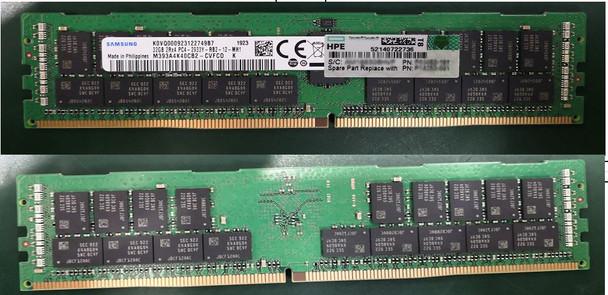 HPE P19045-B21 64GB (1x64GB) Dual Rank x4 2933MHz 288-Pin PC4-2933Y-R DDR4-2933 CL21 (CAS-21-21-21) ECC Registered RDIMM Smart Memory Kit for ProLiant Gen10 Servers (Brand New with 3 Years Warranty)