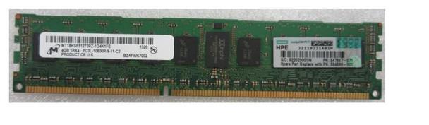 HPE 647647-071 4GB (1x4GB) Single Rank x4 1333MHz 240-Pin PC3L-10600R DDR3-1333 CL9 (CAS-9-9-9) ECC Reg DIMM SDRAM Low Voltage Memory Kit for ProLiant Gen8 Servers (Brand New With 3 Years Warranty)