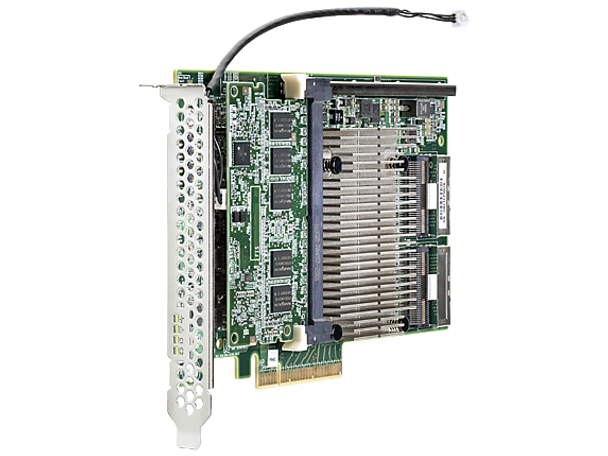 HPE 761880-001 P840 4GB 16 Channel PCI Express -3.0 x8 SATA-6Gbps / SAS-12Gbps Smart Array Flash Backed Write Cache RAID Storage Controller for ProLiant Gen9 Servers (New Bulk Pack with 1 Year Warranty)