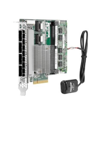 HPE 643379-001 Smart Array P822/2GB FBWC (Flash Backed Write Cache) 6Gbps 2-Ports-Int/4-Ports Ext SAS/SATA Storage (RAID) Controller for ProLiant Gen8 Servers (Clean/Grade A with 90 Days Warranty)