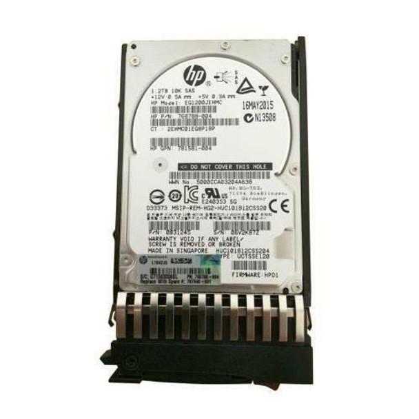 HPE EG1200JEHMC 1.2TB 10000RPM 2.5inch SFF Dual Port SAS-12Gbps Enterprise Hard Drive for MSA 1040/2040 SAN Storage (Grade A with Lifetime Warranty)