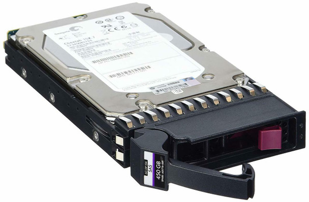 HPE 606227-002 450GB 15000RPM 3.5inch Large Form Factor SAS-6Gbps Dual Port Enterprise Hard Drive for Modular Smart Array 2 (Grade A with Lifetime Warranty)