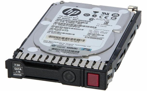 HPE 832510-001-SC 1TB 7200RPM 2.5inch SFF Digitally Signed Firmware SATA-6Gbps Smart Carrier Midline Hard Drive for ProLiant Gen8 Gen9 Gen10 Servers (New Bulk Pack with 1 Year Warranty)
