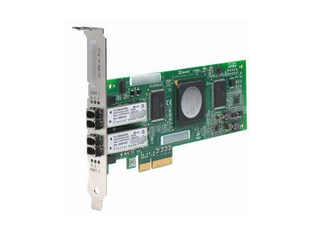 HPE 407621-001 4Gb Dual Port PCI Express Fibre Channel Host Bus Adapter for Storageworks and ProLiant Gen1 to Gen7 Servers (New Bulk Pack with 1 Year Warranty)
