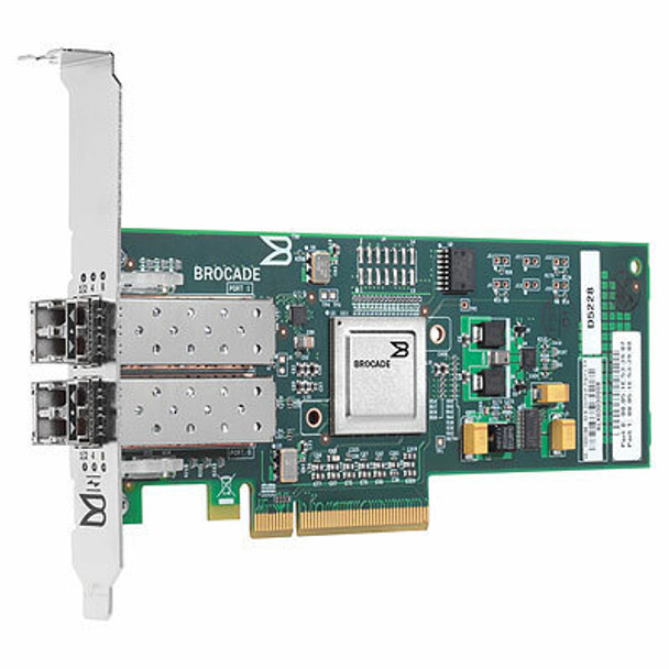 HPE AP770-63001 82B 8GB Dual Port PCI-Express Fiber Channel Host Bus Adapter for ProLiant Servers (New Bulk Pack with 1 Year Warranty)