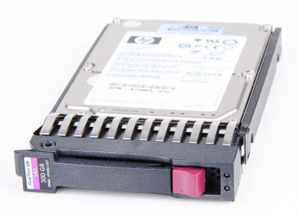 HPE 492620-B21 300 GB 10000 RPM 2.5 inch Small Form Factor SAS-3Gbps Dual Port Hot-Swap Enterprise Hard Drive for ProLaint Server