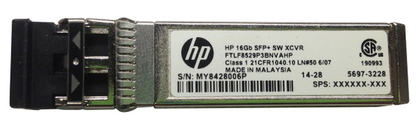 HPE J9054-61301 X111 100 Mbps SFP+ LC 100Base-FX Plug-in Module Full Duplex Wired Fast Ethernet Transceiver Module (Brand New with 3 Years Warranty)