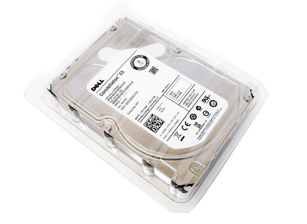 Dell 74DYX 1TB 7200RPM 3.5inch LFF SAS-6Gbps 64MB Buffer Hot-Swap Hard Drive for PowerEdge and PowerVault Servers (New Bulk Pack with 1 Year Warranty)